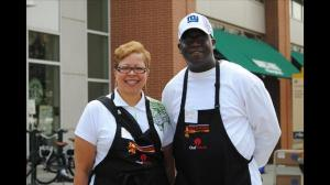 Volunteers come to Taste of Atlanta to provide help to everyone who attends (Photo: Holly Pennebaker, 11Alive News)